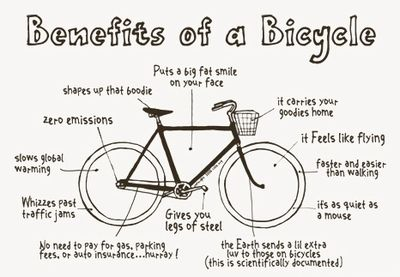 Benefits of bicycling