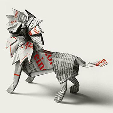 Wu_origami_lion